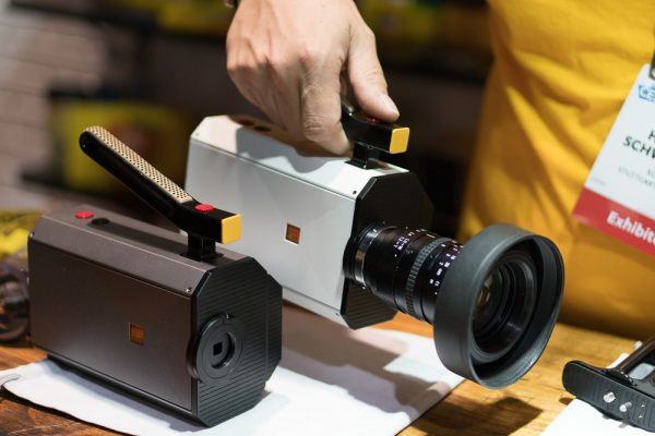 Kodak Super 8 camera with top handle